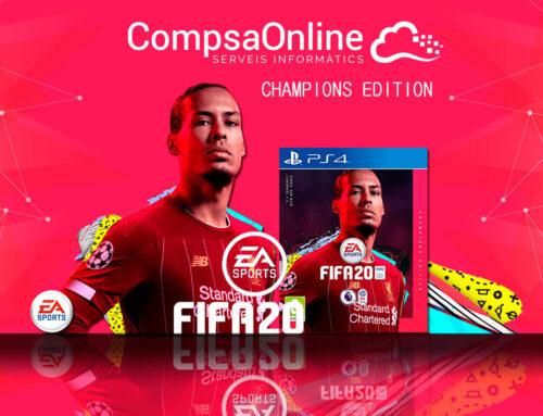 Versión limitada del FIFA20 a CompsaOnline