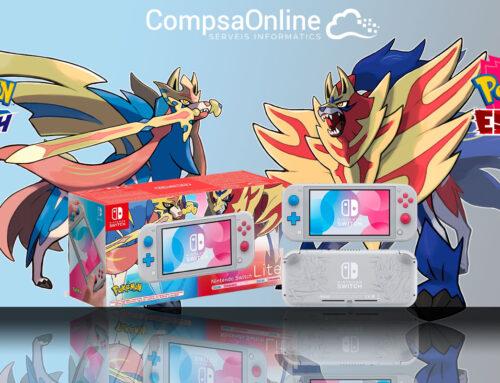 No et quedis sense la teva Consola Nintendo Switch Lite edició limitada Pokémon!