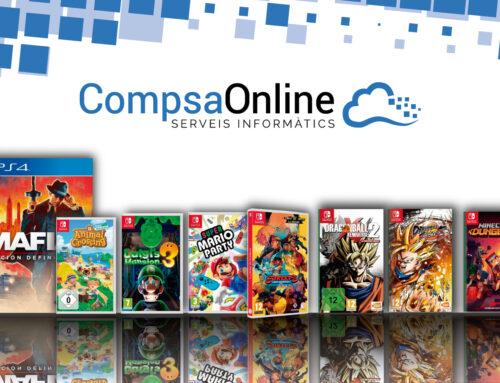 Arriben nous videojocs a CompsaOnline!