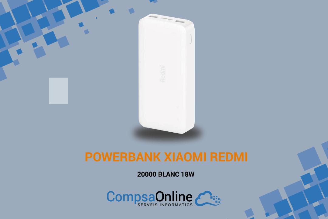 NOVA POWERBANK XIAOMI REDMI 20000 mAh