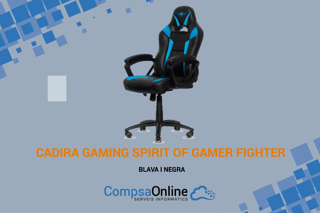 NOVA CADIRA GAMING SPIRIT OF GAMER FIGHTER
