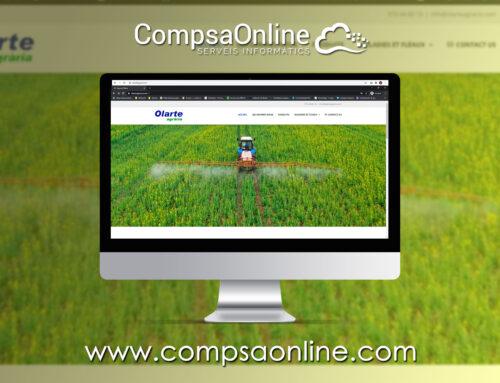 Finalitzem la web de Olarte Agraria