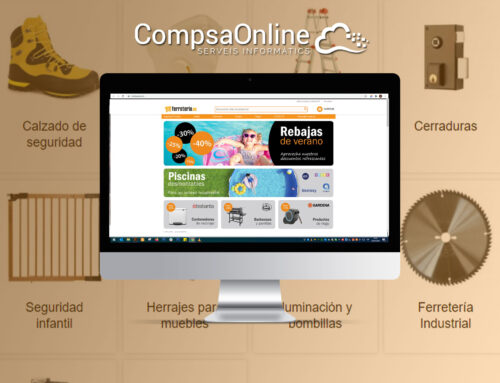 CompsaOnline realitza la gestió de la web ferreteria.es