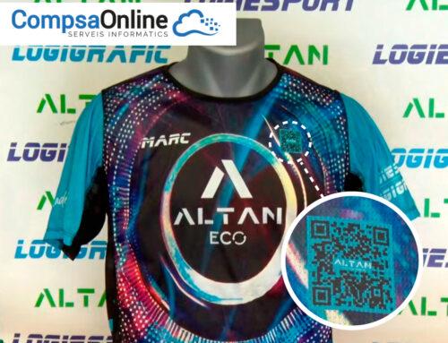 CompsaOnline crea un software per generar codis QR per Altanwear