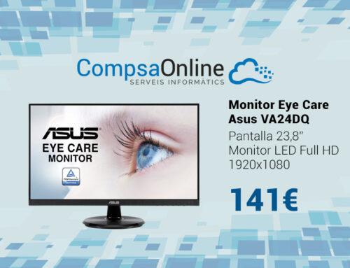 Nou monitor Asus que te cura dels teus ulls